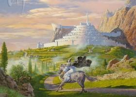 Gandalf Rides to Minas Tirith