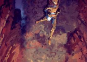 Maedhros Casts Himself into a Chasm