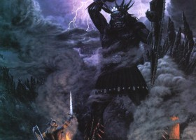 Morgoth and the High King of Noldor