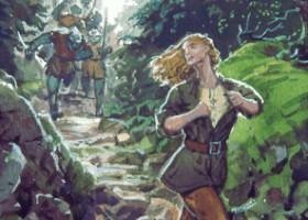 Nienor Flees the Orcs