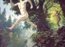 Saeros' Fatal Leap