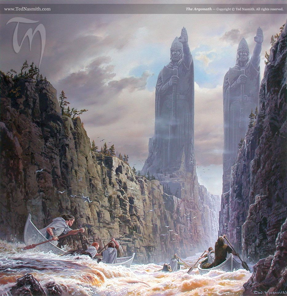 Artwork inspired by Tolkien - Page 25 TN-The_Argonath