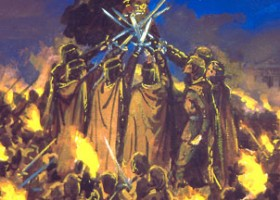 Sketches & Studies (The Silmarillion) – Ted Nasmith Oath Of Feanor