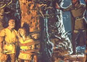 Túrin Returns to Find Beleg Being Held Captive