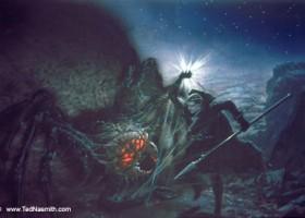 Ungoliant Demands the Silmarils