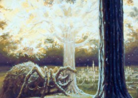 Ungoliant and the Two Trees