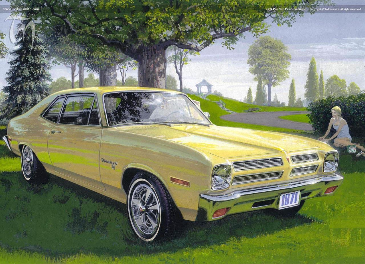 1971 Pontiac Ventura Coupe Ted Nasmith