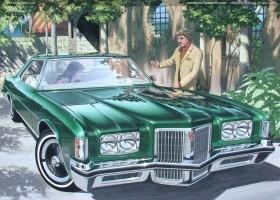 1972 Pontiac Bonneville coupe