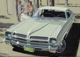 1972 Pontiac Ventura coupe