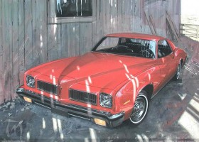 1973 Pontiac LeMans coupe