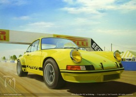 1974 Porsche 911 at Sebring