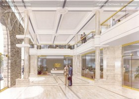 Lobby - proposed office complex