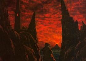 Sam Enters Mordor Alone