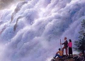 At Paugan Falls