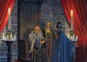 Lord Walder Frey and Catelyn