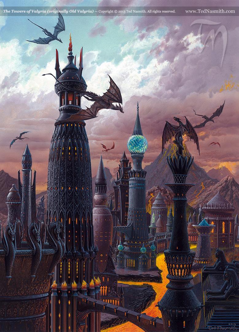 The Towers of Valyria (originally Old Valyria)
