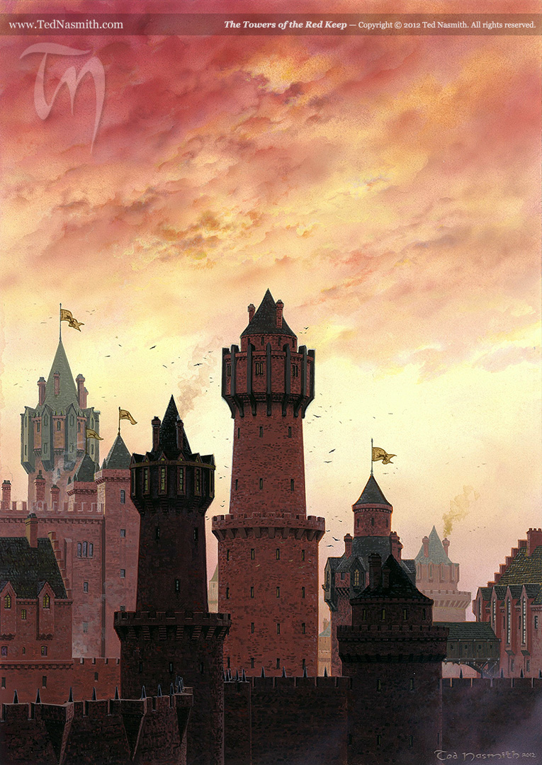 The Towers of the Red Keep
