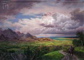 Westeros Landscape; A View Southeast to the Bay of Crabs