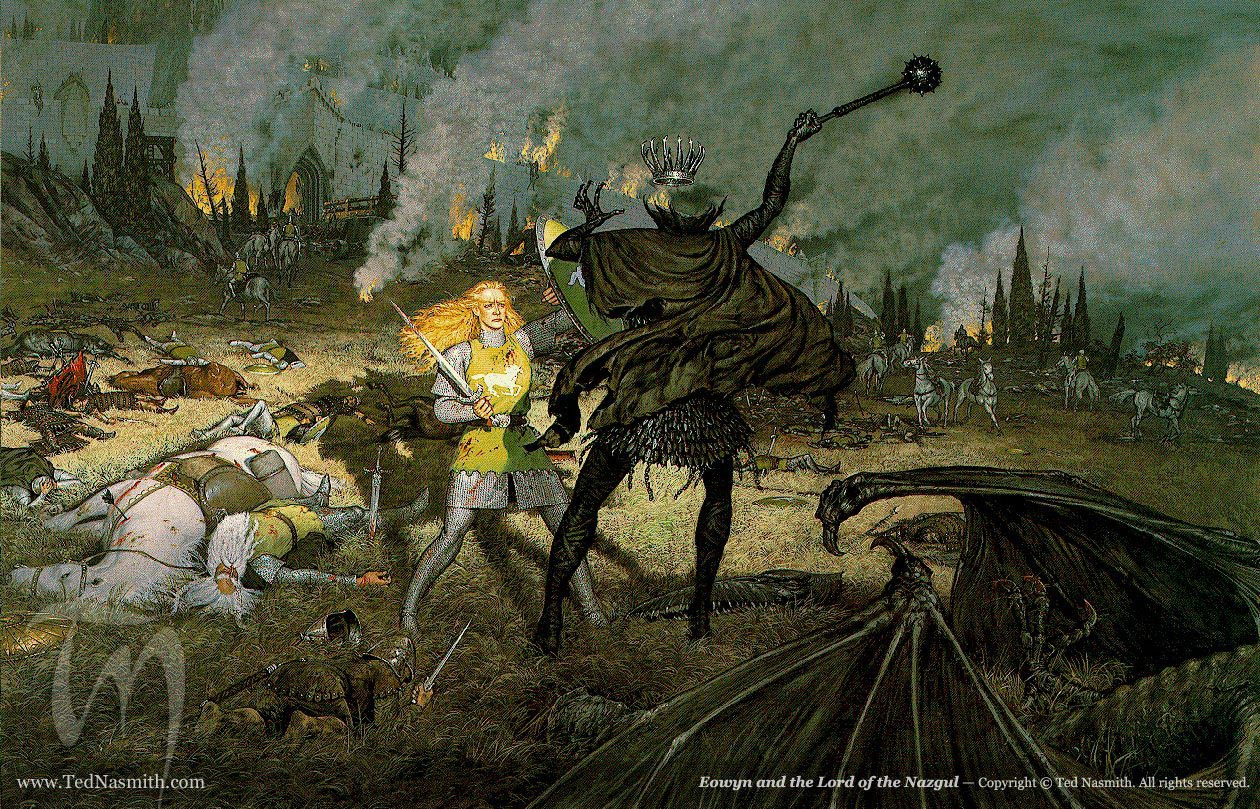 Imagem de fundo TN-Eowyn_and_the_Lord_of_the_Nazgul