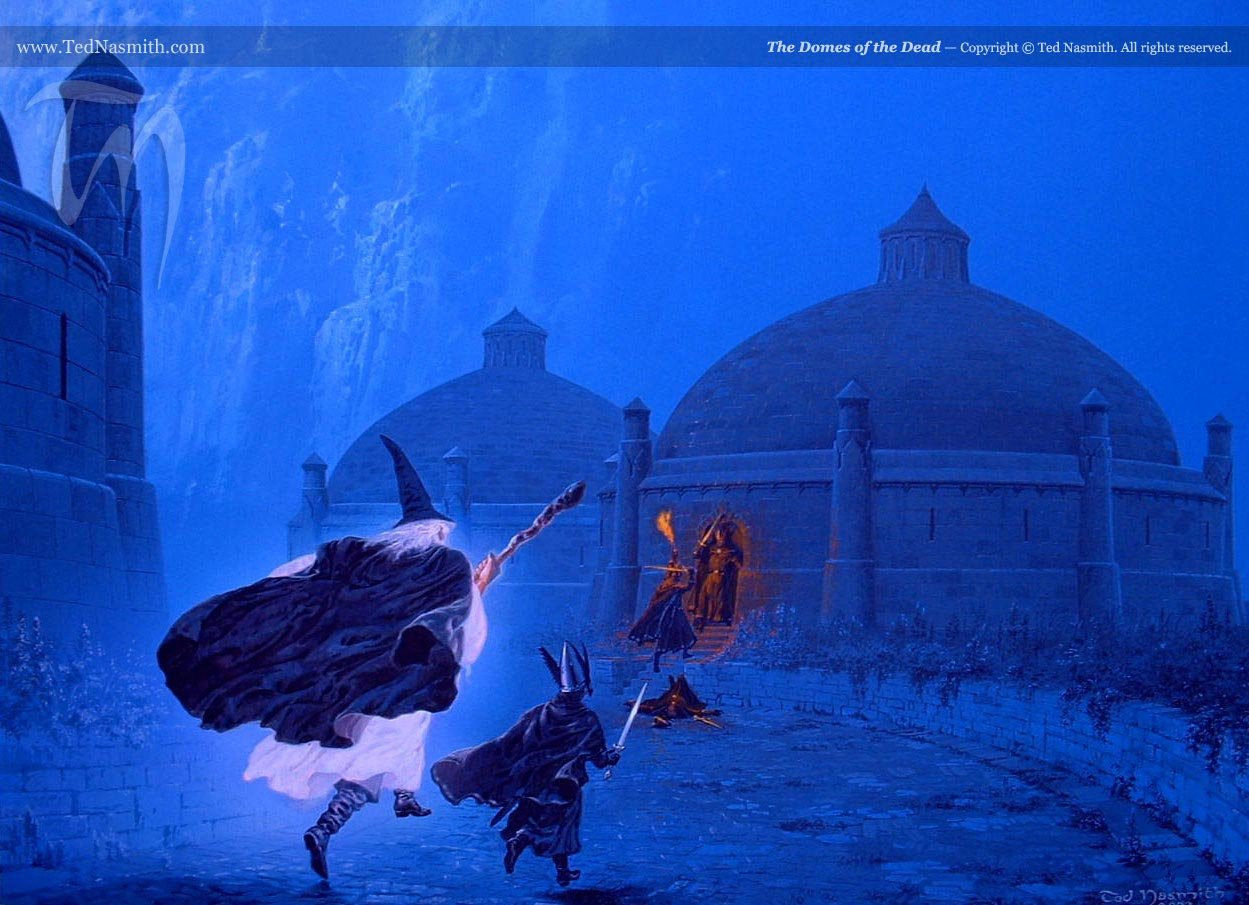 the domes of the dead  u2013 ted nasmith