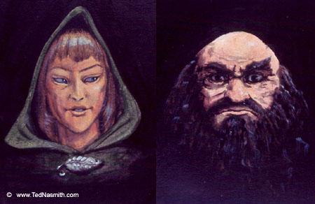 Legolas & Gimli - Ted Nasmith